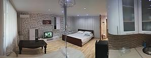Уютная теплая студия, 1-комнатная, 001