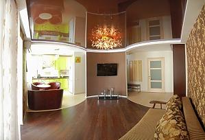 Элитная квартира в центре, 2х-комнатная, 002