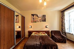 Затишна квартира в тихому районі недалеко від центру, 1-кімнатна, 002