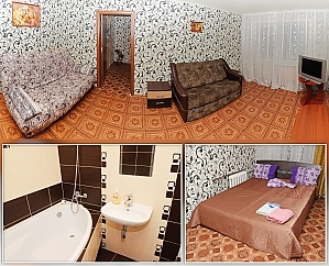 Luxury apartment with WI-FI, Un chambre, 001