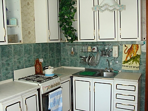 Fully equipped apartment, Dreizimmerwohnung, 002