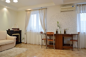 Cozy apartment with a fireplace near to Minska station, Due Camere, 002