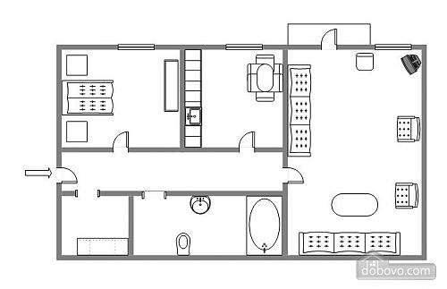 8 Прорезная, 2х-комнатная (27331), 006