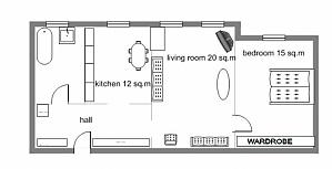 8, Rue  Sofiivska , Un chambre, 006