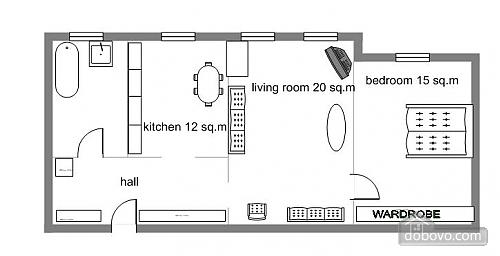 Apartment on Sofiivska, One Bedroom (27397), 006
