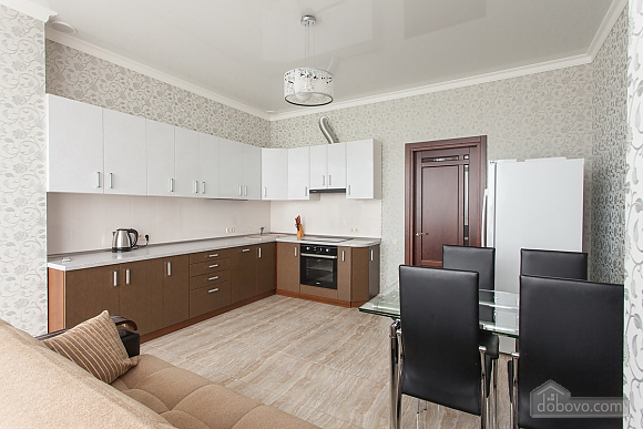 Premium class apartment with panoramic view from the window, Dreizimmerwohnung (80829), 006
