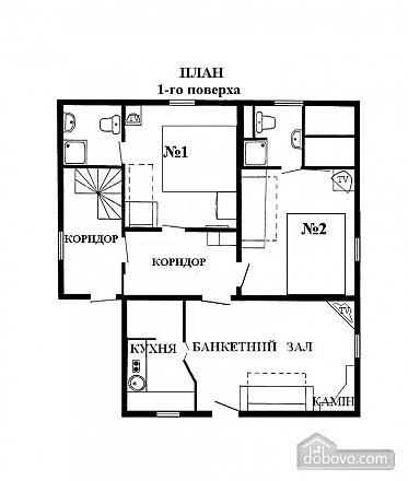 Chertyzh, Two Bedroom (35422), 017