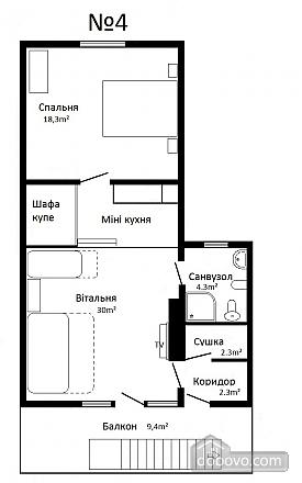 Chertyzh, Zweizimmerwohnung (53301), 013