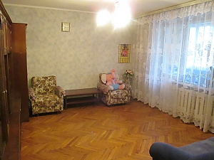 Apartment near Nyvky metro station, Un chambre, 004