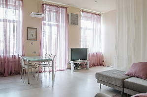 Квартира с великолепным видом в центре Киева, 1-комнатная, 003