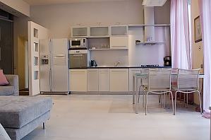 Apartment with a magnificent view in the center of Kiev, Studio, 004
