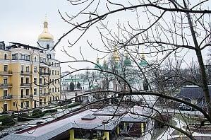 Квартира с великолепным видом в центре Киева, 1-комнатная, 007