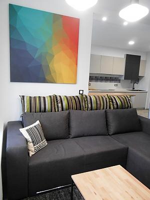 Сучасна квартира, 2-кімнатна, 003