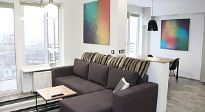 Сучасна квартира, 2-кімнатна, 035