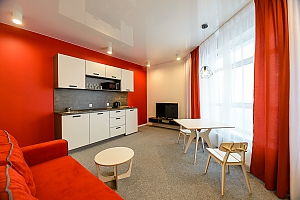 Modern apartment with a panoramic view, Zweizimmerwohnung, 002