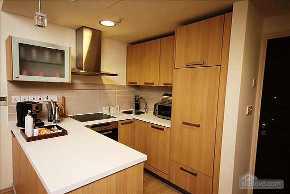 Покращені апартаменти з видом на сад з однією спальнею, 2-кімнатна (43961), 004