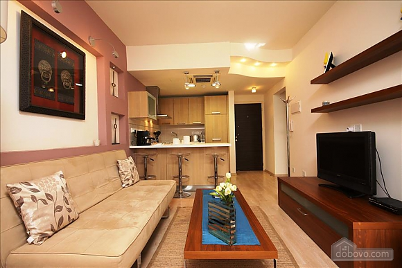 One bedroom apartment with side sea view, One Bedroom (99799), 008