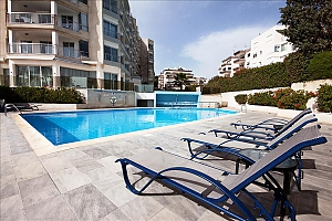 Superior one bedroom apartment side sea view with private pool, Una Camera, 025