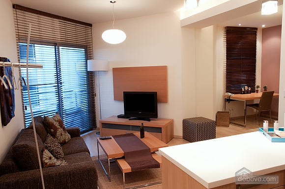 Superior one bedroom apartment with view on garden, Un chambre (17837), 001