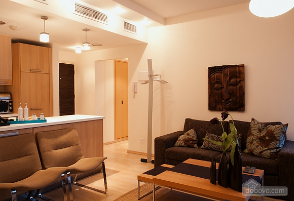 Superior one bedroom apartment with view on garden, Un chambre (17837), 002