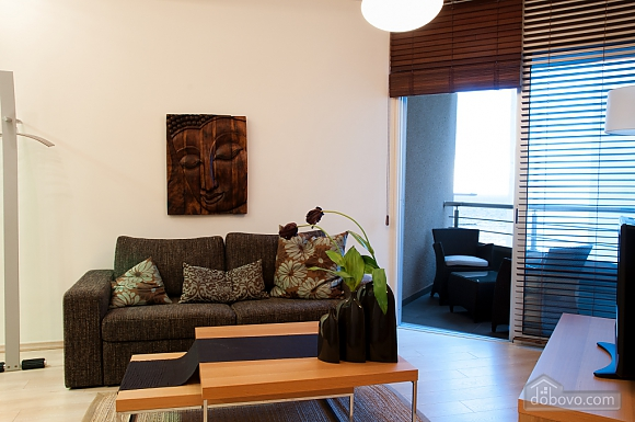 Superior one bedroom apartment with view on garden, Un chambre (17837), 003