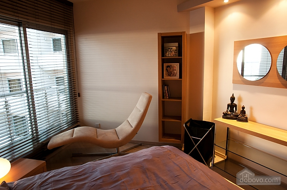 Superior one bedroom apartment with view on garden, Un chambre (17837), 007