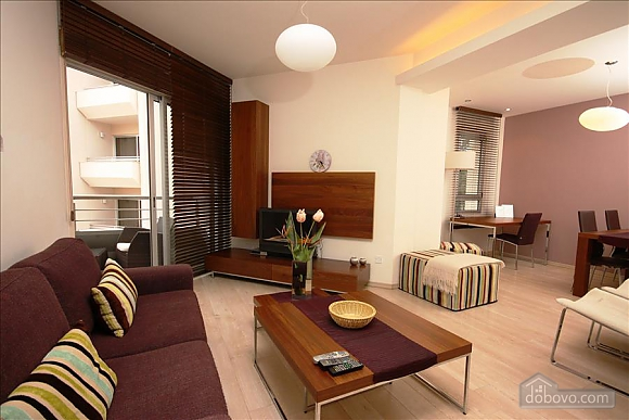 Superior one bedroom apartment with view on garden, Un chambre (17837), 012