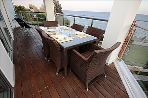 Beachfront 3 bedroom luxury apartment, Tre Camere, 002