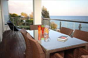 Beachfront 3 bedroom luxury apartment, Tre Camere, 003