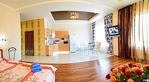 Люкс в новобудові біля метро Гагаріна, 1-кімнатна, 001