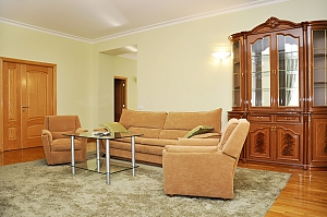 Spacious apartment in the center of Kiev, Zweizimmerwohnung, 003