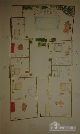 Средневековая студия с бассейном, 1-комнатная (79856), 028