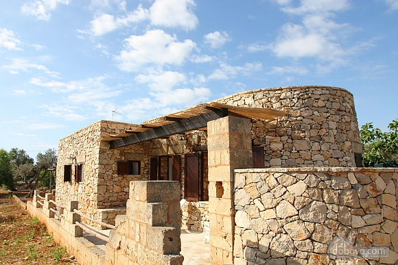 Trullo surrounded by olive trees, One Bedroom (47383), 003