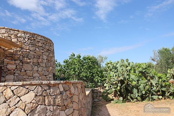 Trullo surrounded by olive trees, One Bedroom (47383), 004