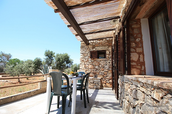 Trullo surrounded by olive trees, One Bedroom (47383), 019