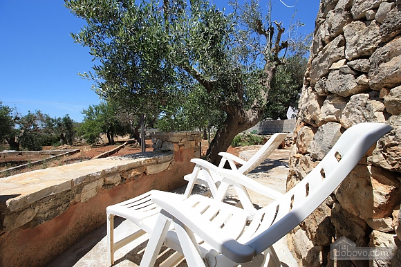 Trullo surrounded by olive trees, One Bedroom (47383), 027