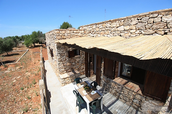 Trullo surrounded by olive trees, One Bedroom (47383), 033