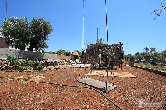 Trullo surrounded by olive trees, One Bedroom (47383), 034