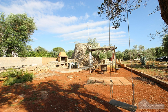 Trullo surrounded by olive trees, One Bedroom (47383), 048