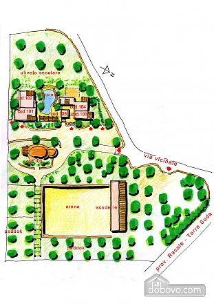 Villa and pool inside the park, One Bedroom (13875), 025