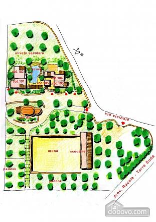 Вилла и бассейн внутри парка, 2х-комнатная (13875), 025