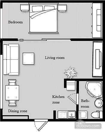 Bali Apartment, Un chambre (36719), 015