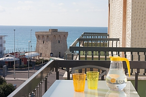 Spacious apartment in 50 meters from beach, Trois chambres, 001