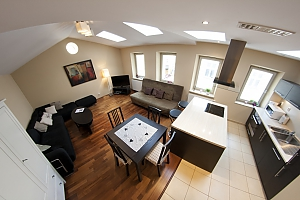 Spacious deluxe apartment, Dreizimmerwohnung, 002