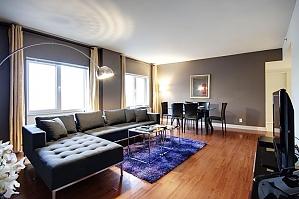 Квартира возле Quartier des Spectacles, 2х-комнатная, 002
