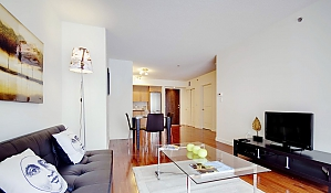 Condo in Downtown Montreal, One Bedroom, 001