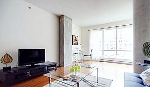 Квартира в центре Монреаля, 2х-комнатная, 002