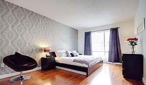 Квартира в центре Монреаля, 2х-комнатная, 003