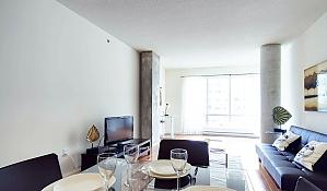 Квартира в центре Монреаля, 2х-комнатная, 004