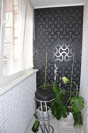 Чорно-біла квартира люкс, 1-кімнатна (47109), 006